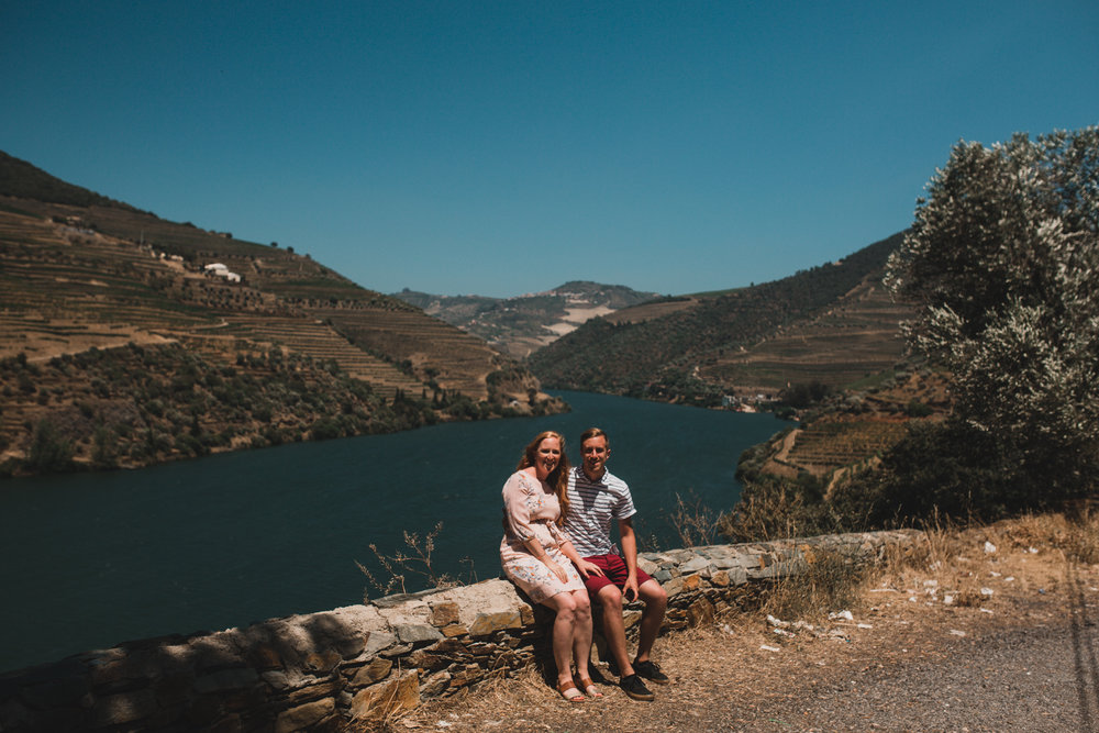 Duoro Valley Engagement Photographer