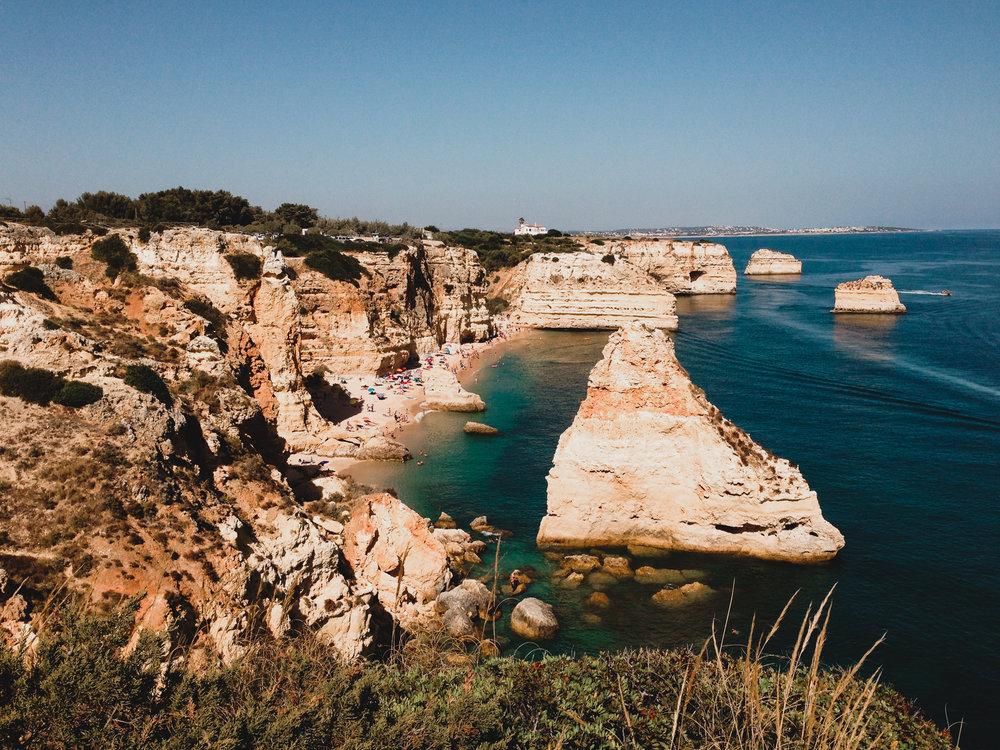 Southern Portugal, Albufeira coastline