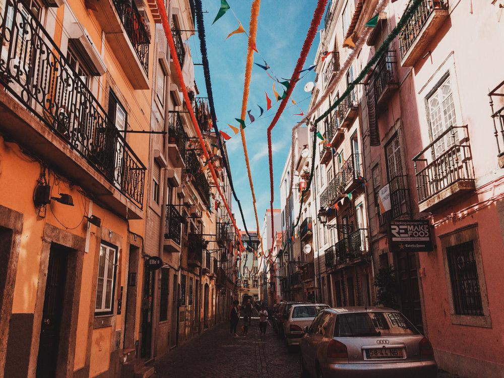 Festival in Lisbon's Streets
