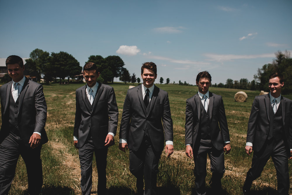 Casual Wedding Party Portraits Ottawa