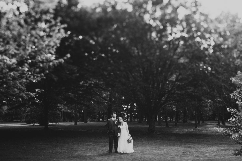 Jonathan Kuhn Moody Wedding Portraits