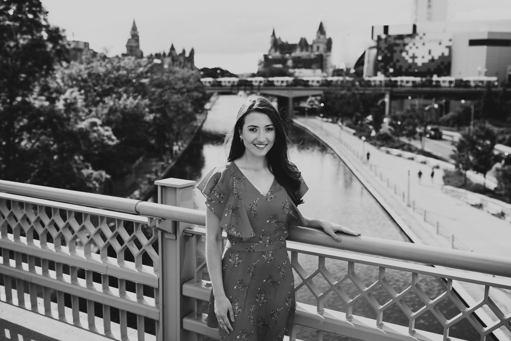 Downtown Ottawa Portrait Session