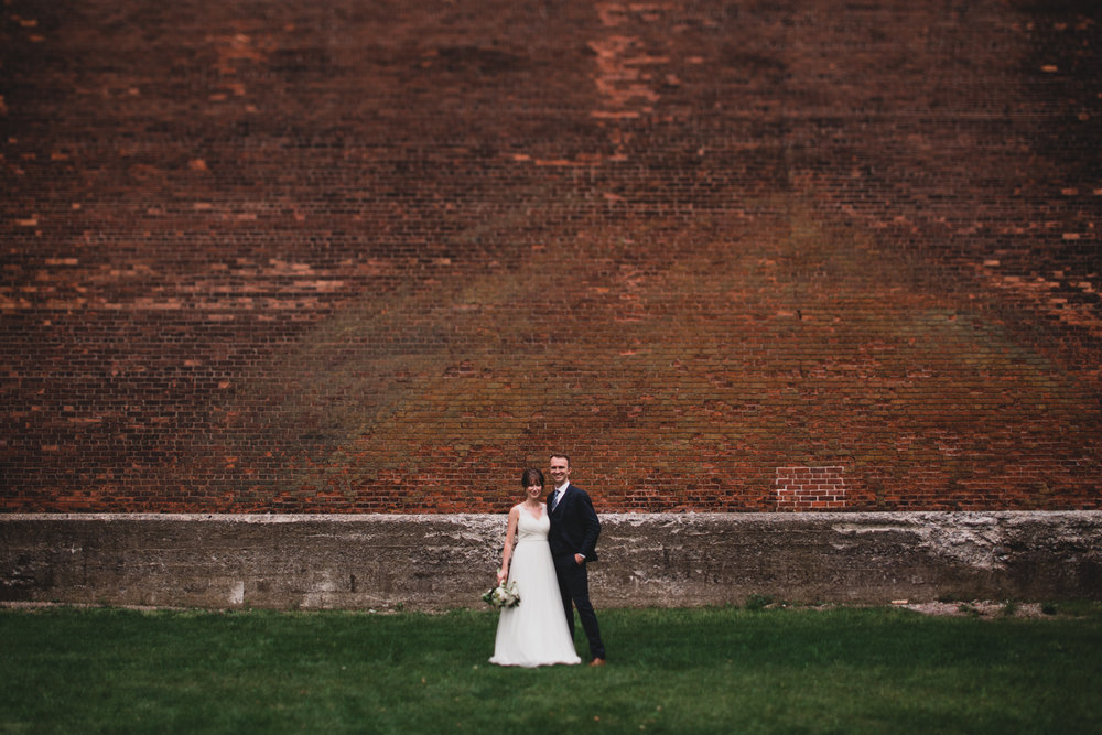 Brick Wall Wedding Ottawa