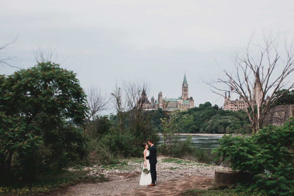 Downtown Ottawa Wedding Photographs