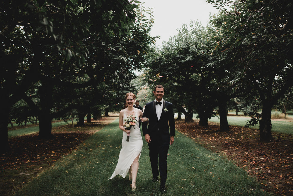 Outdoor Orchard Wedding