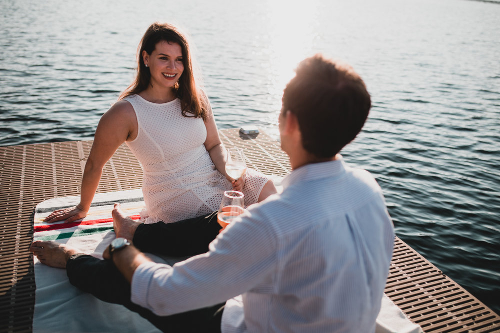 Lakeside Wedding, Engagement Session