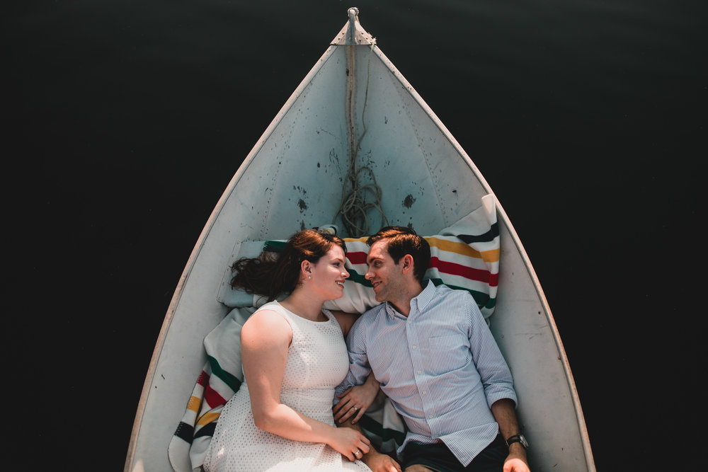 Canadiana engagement photography