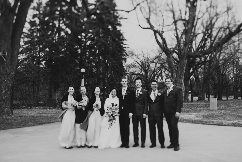 Dow's Lake Wedding Winter