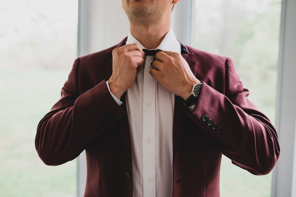 Burgundy Wedding Suit 2018