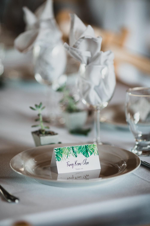 Botanic Themed Wedding
