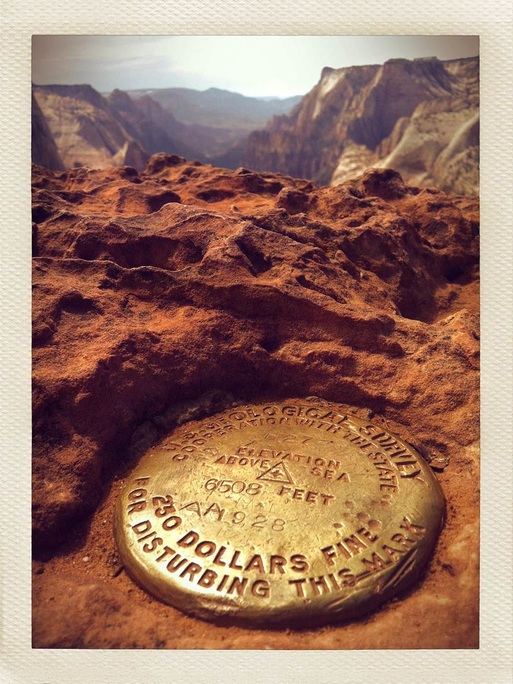 6,508 Feet, Zion