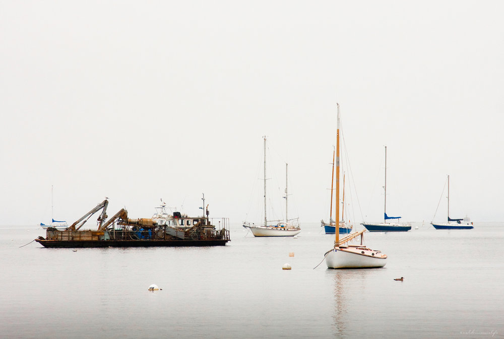 Fog over Harbor   Shots10  Group Exhibition,    Showcase School of Photography  Of the 399  submissions, Fog over Harbor was one of 71 chosen chosen to be exhibited during Atlanta Photography Group's (APG) Photography Month.     Atlanta, GA - October, 2010.