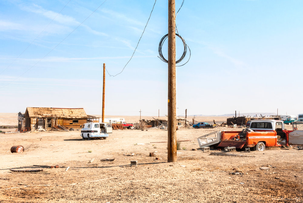 Cisco, A Railroad Ghost Town