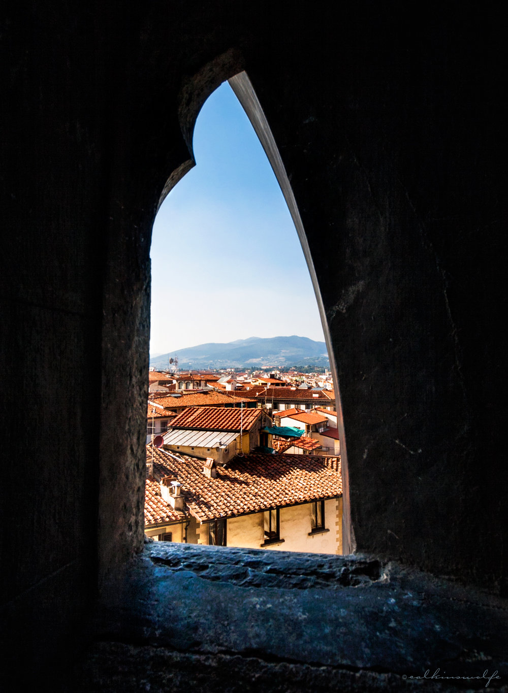 View from the Duomo - Florence, Italy