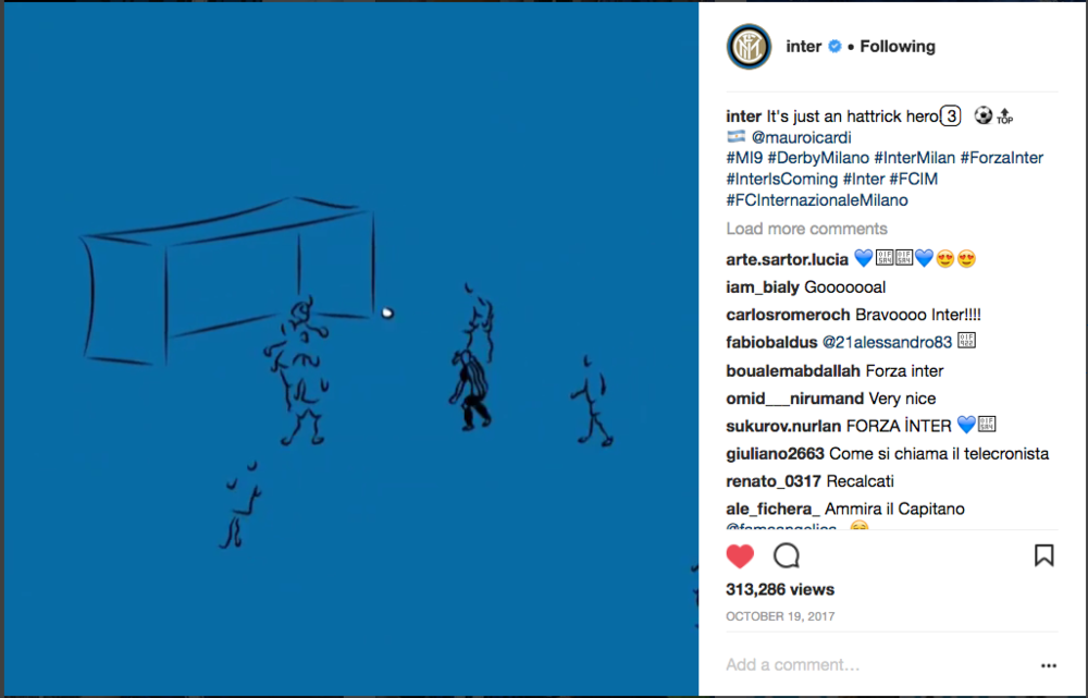 This proved to be one of our most popular animations to date, amassing over 300k views since being posted in October 2017. The combination of illustration, animation and live action tells the story in a creative way that really adds to the historic occassion.