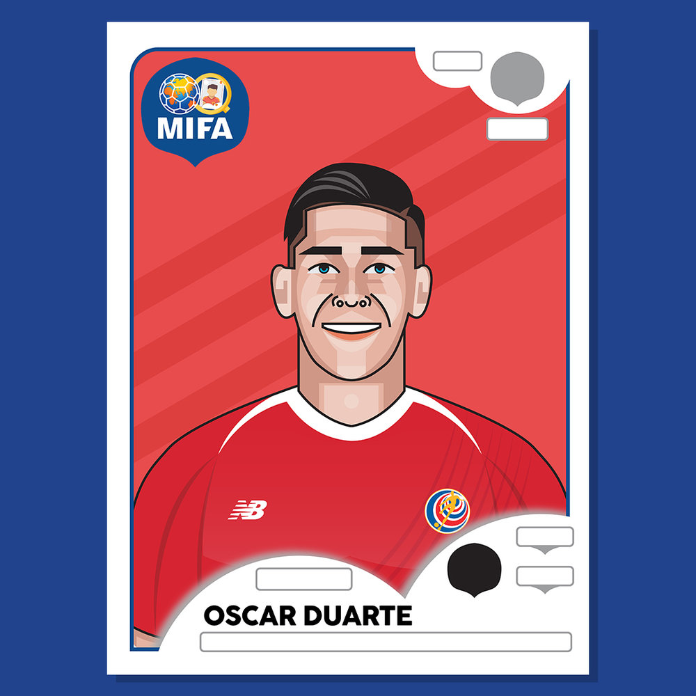 Oscar Duarte - Costa Rica - by Galang Kurniawan @gxxlxg