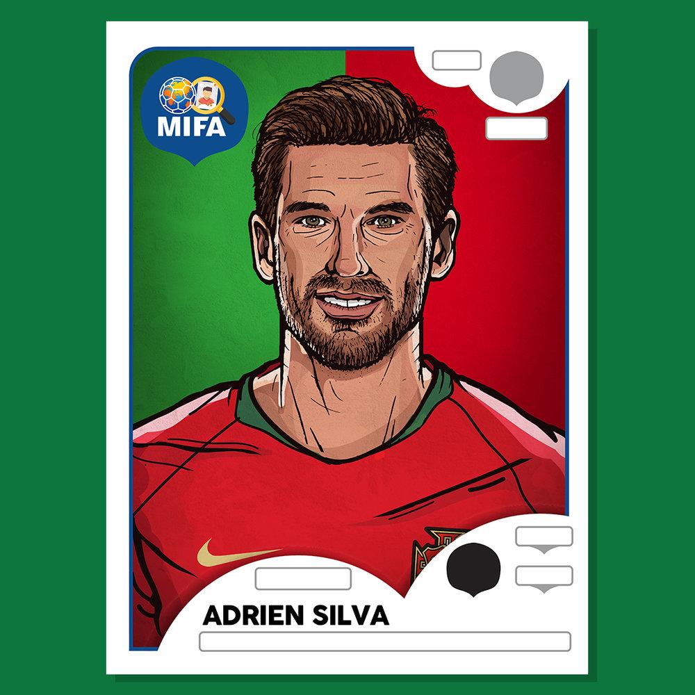 Adrien Silva - Portugal - by Damien Quinn @DMQ_FC
