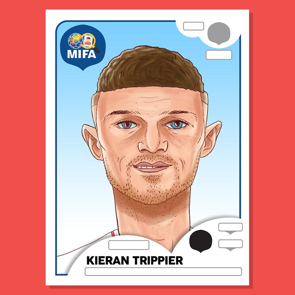Kieran Trippier - England - by Dan Leydon @danleydon