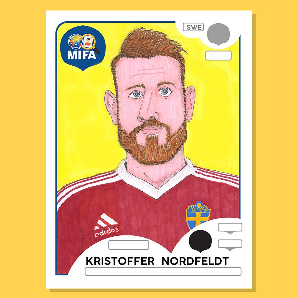 Kristoffer Nordfeldt - by Noreen Wiseman @NTojo72