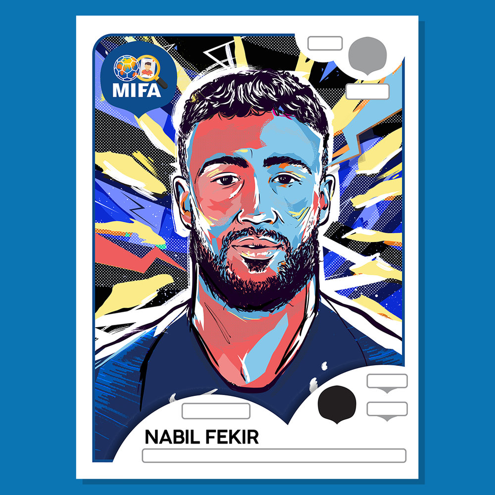Nabil Fékir - France - by Scott McRoy @Scott_McRoy
