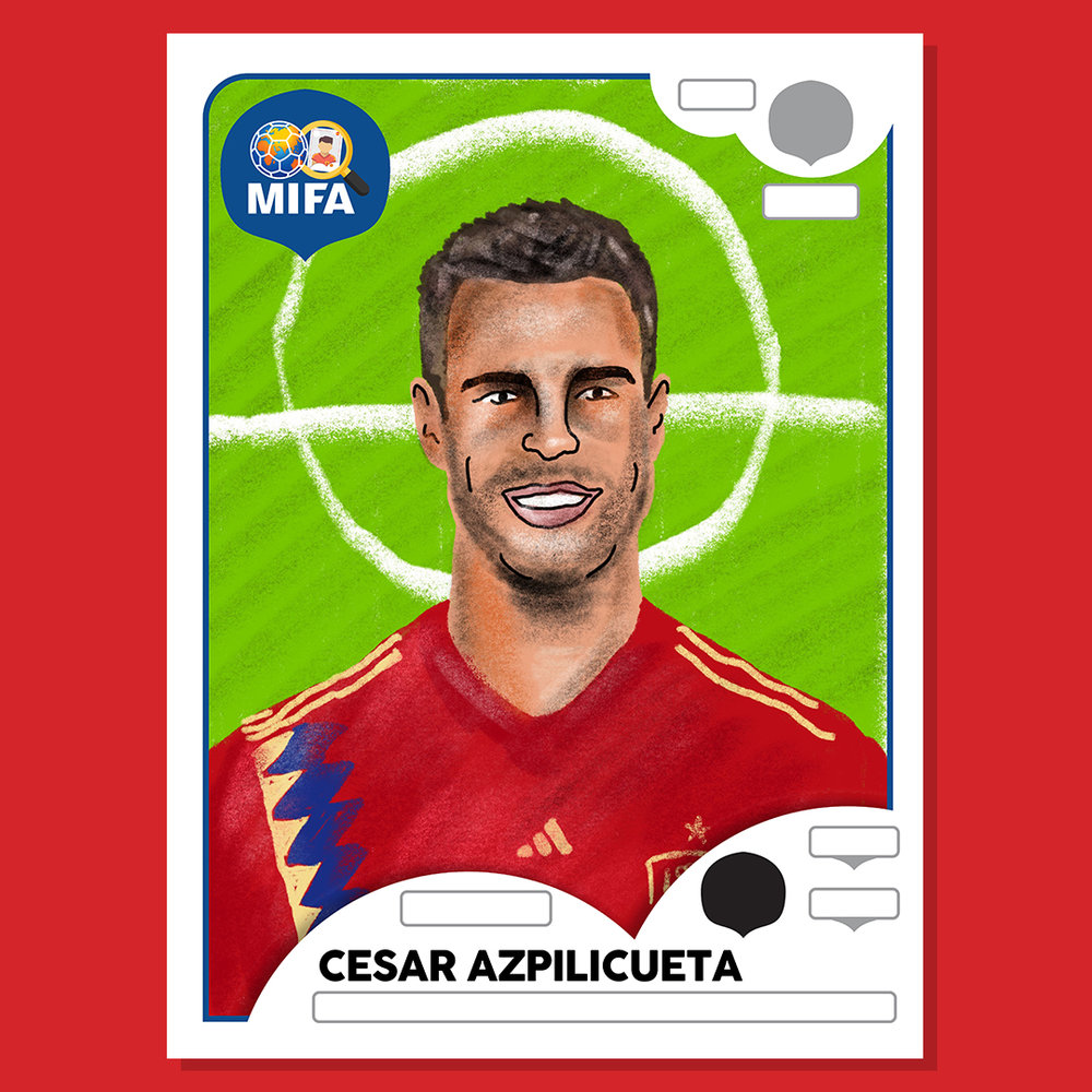 Cesar Azpilicueta - Spain - by Philip Parkin @philip.parkin