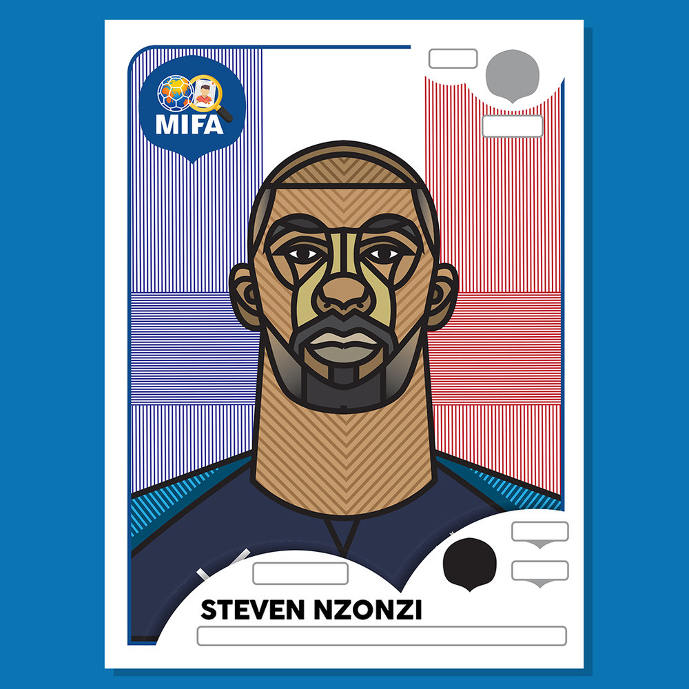 Steven N'Zonzi - France - by Michael Louth @_ml_design