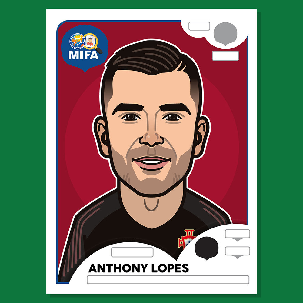 Anthony Lopes - Portugal  - by Mathieu Marcou @mathieumrc
