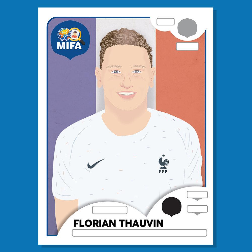 Florian Thauvin - France - by Liam Bane @_liambane