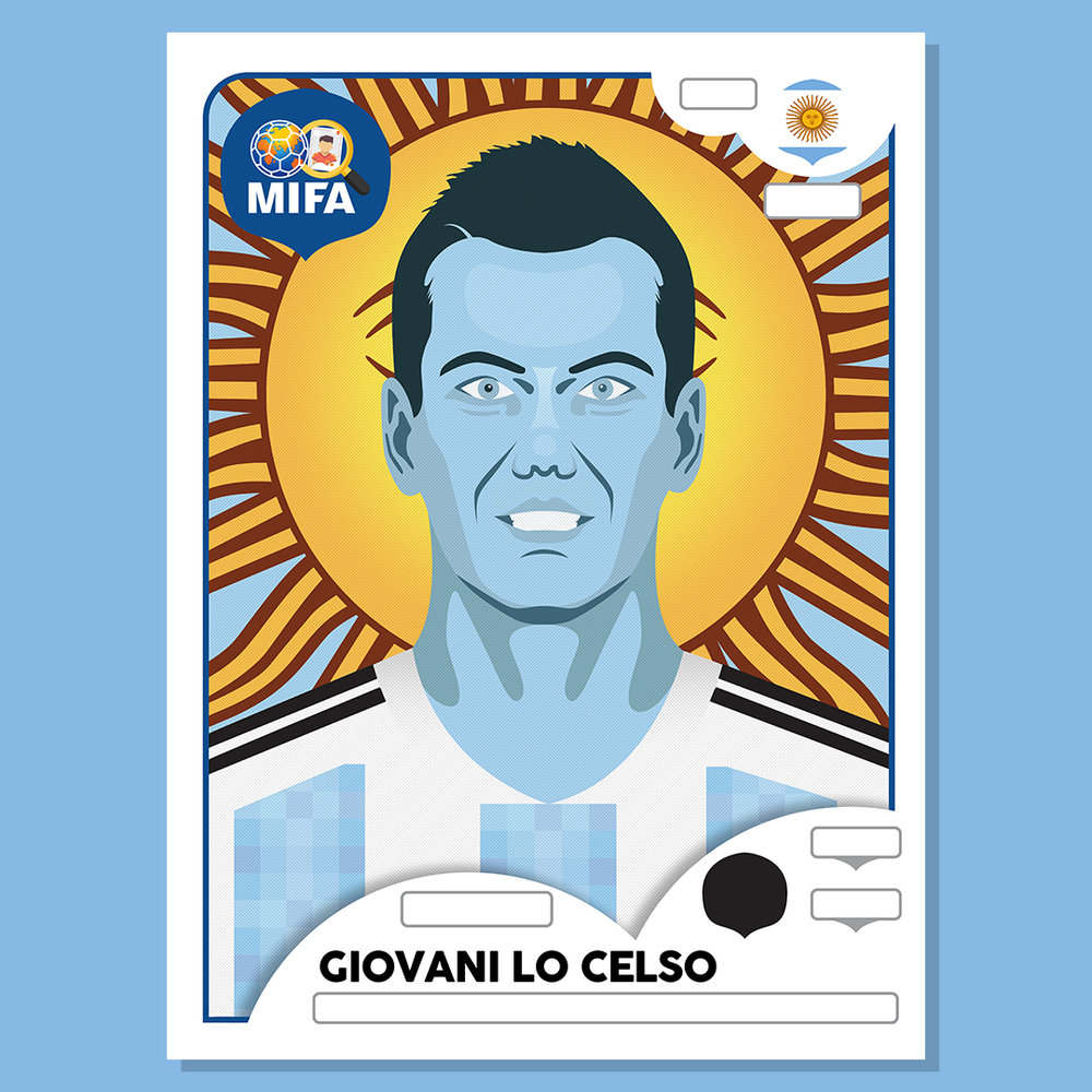 Giovani Lo Celso - Argentina - by Ed Markwick @edmdotmedia