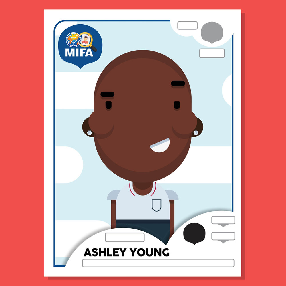 Ashley Young - England -  by Elliot Rylands @elliotrylands