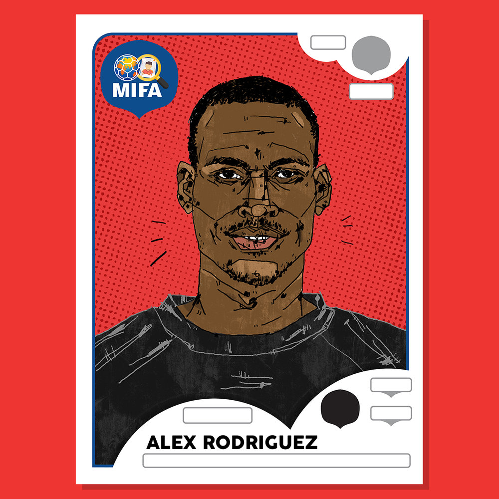 Alex Rodriguez - Panama - by Shannon Marriott @Shan.illu