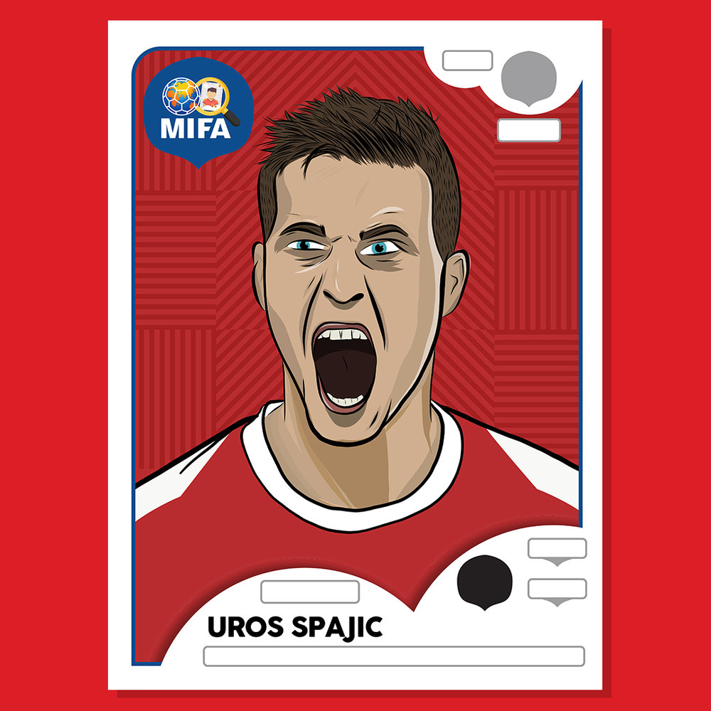 Uros Spajic - Serbia - by Catrin Ellis @catrindesigner