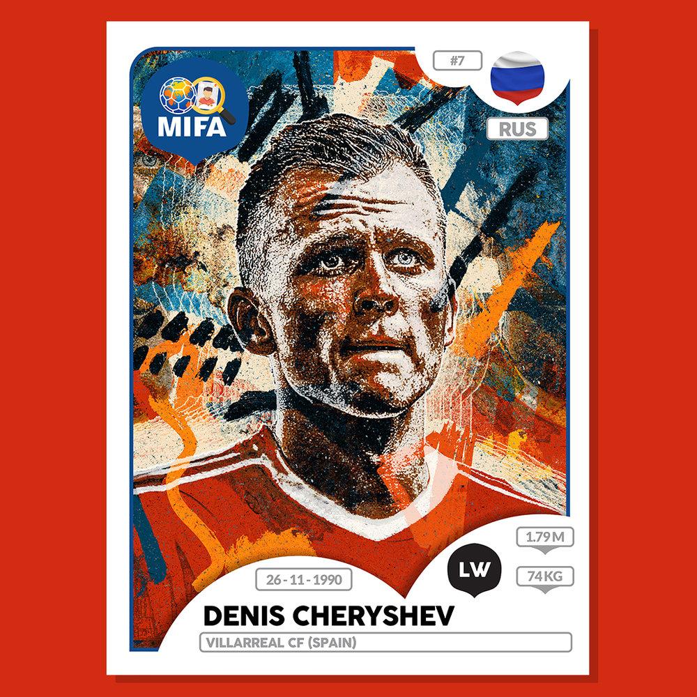 Denis Cheryshev - Russia - by Nicholas lokasasmita @nicholasasmitaa