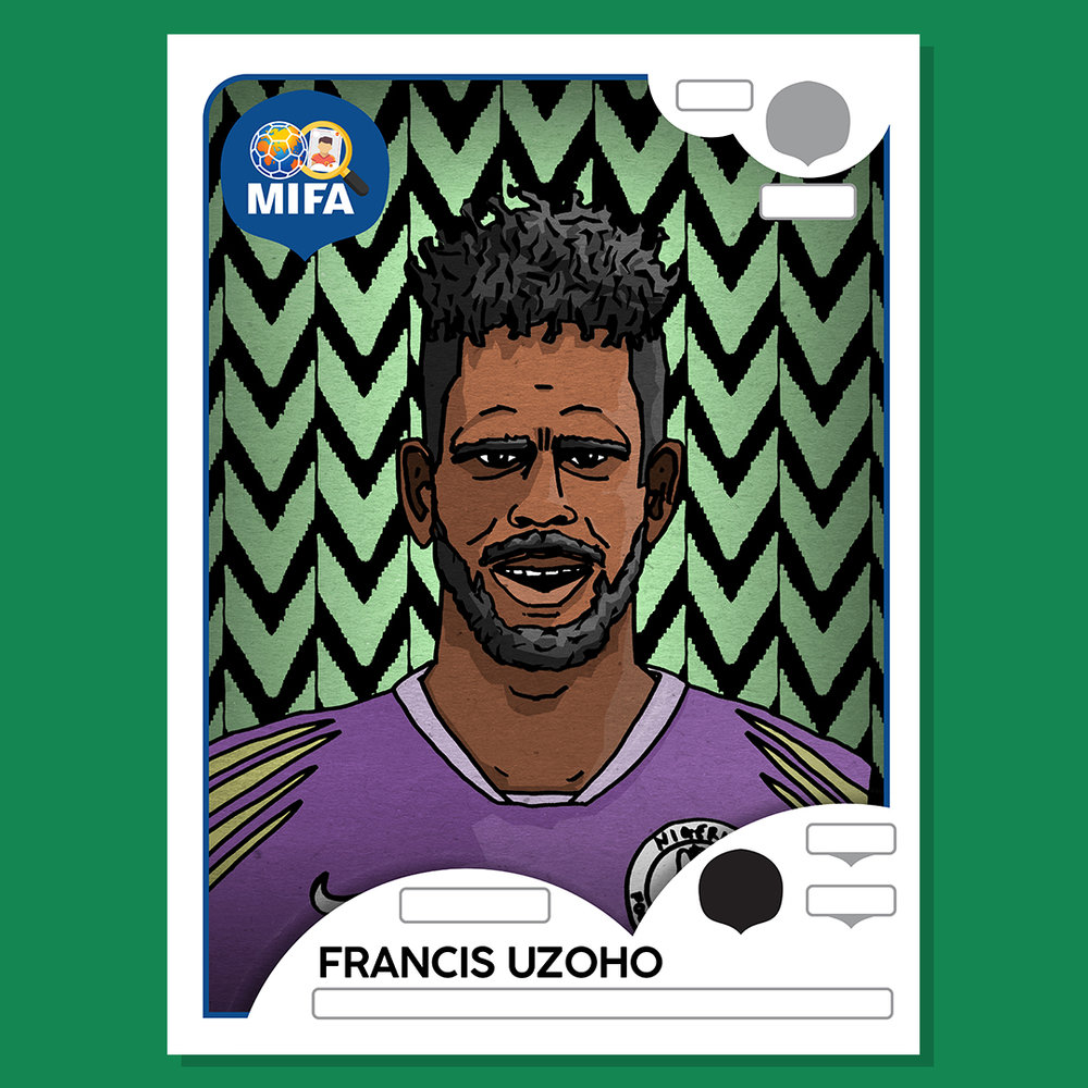 Francis Uzoho - Nigeria - by Lee Marable (Polypricks) @Polypricks_