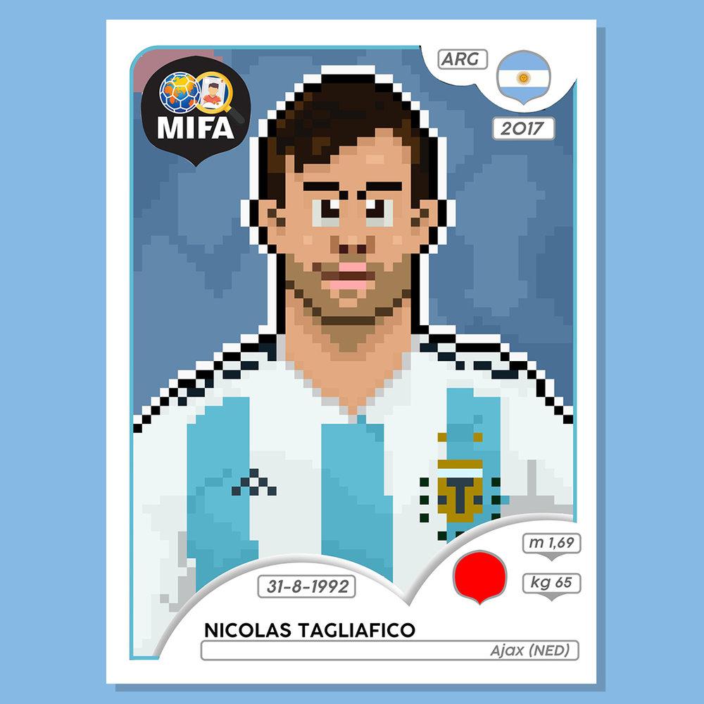 Nicolas Tagliafico - Argentina - by NOPI @nopifications