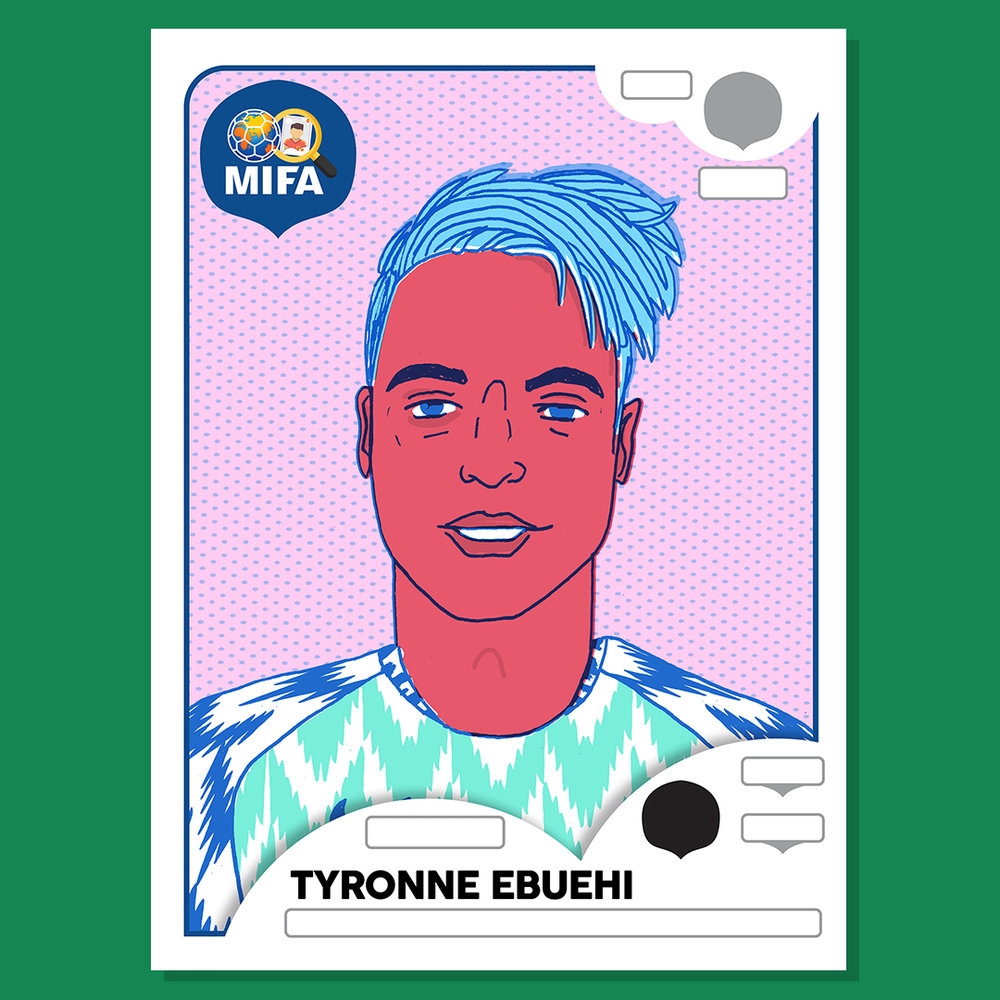 Tyronne Ebuehi - Nigeria - by Rich Fairhead @richfairhead