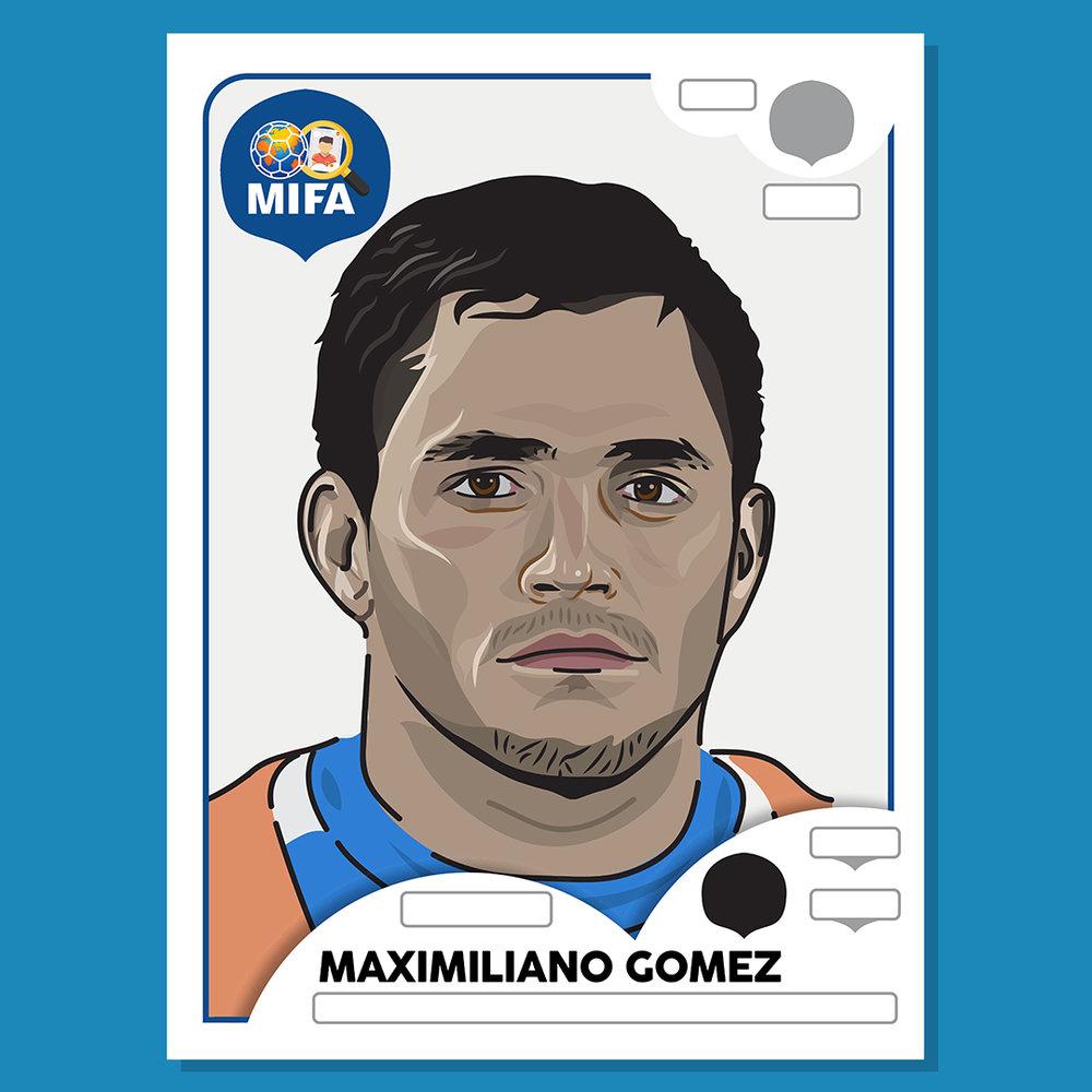 Maximiliano Gomez - Uruguay - by Brandon Layzell @brandon.gfx