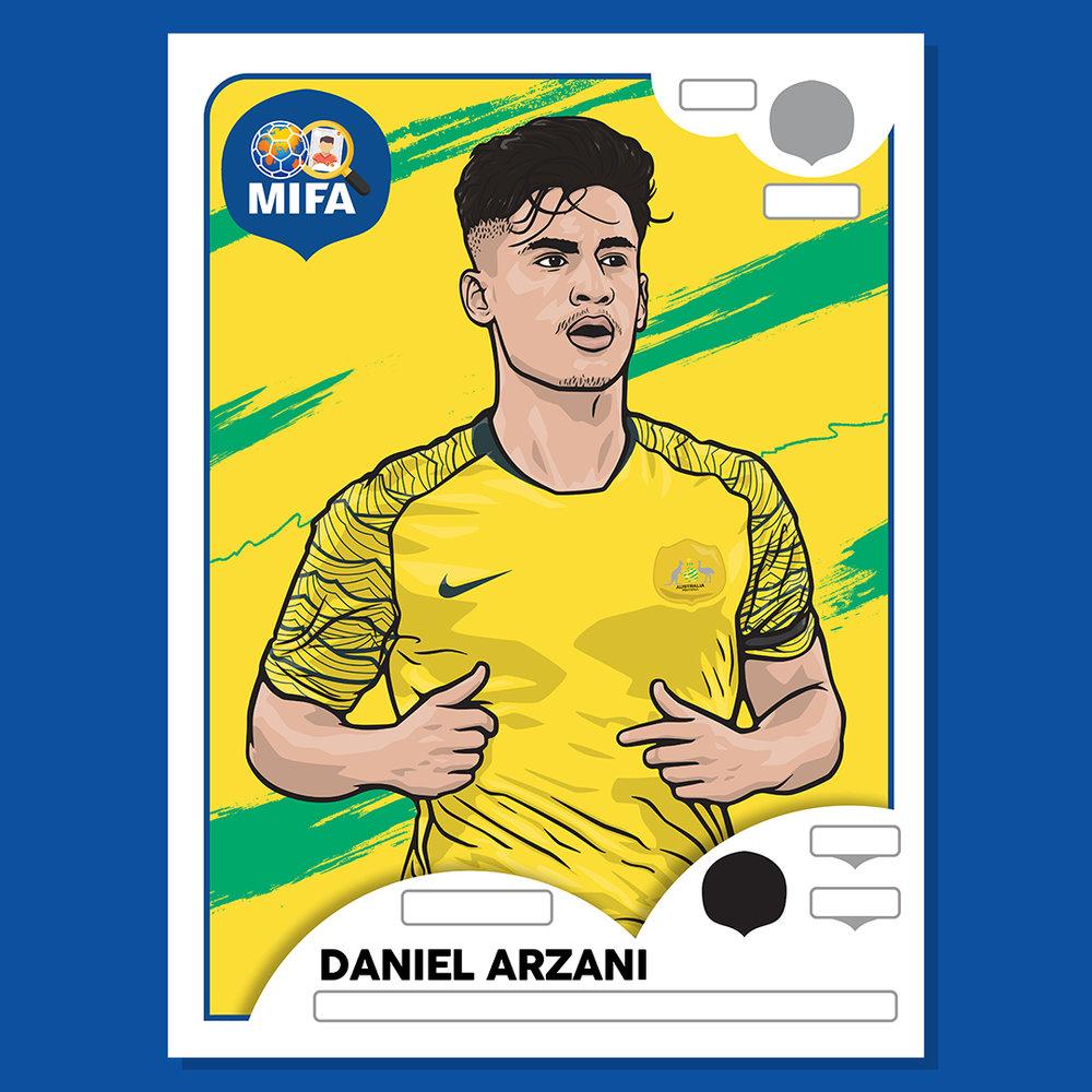 Daniel Arzani - Australia - by Stephen Danielian @stefonovich10