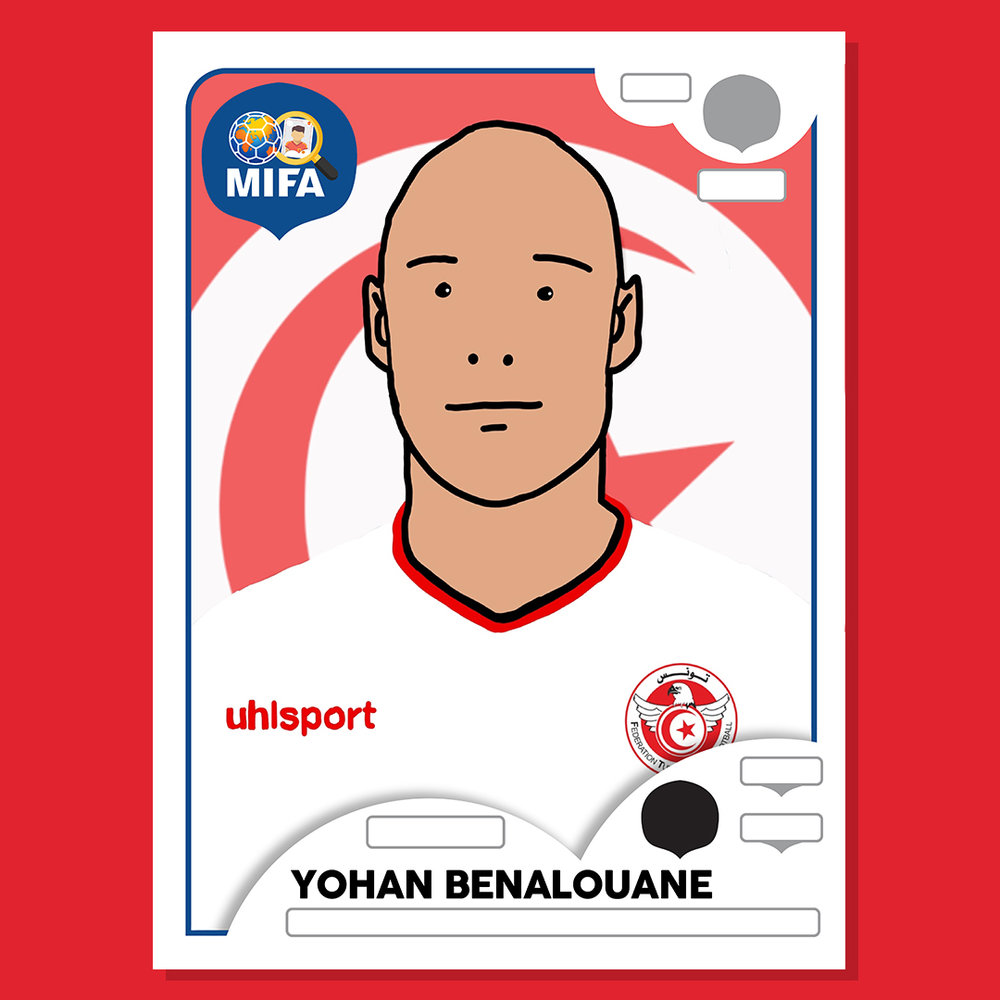 Yohan Benalouane - Tunisia - by Tom Tanner @TomTannerLFC