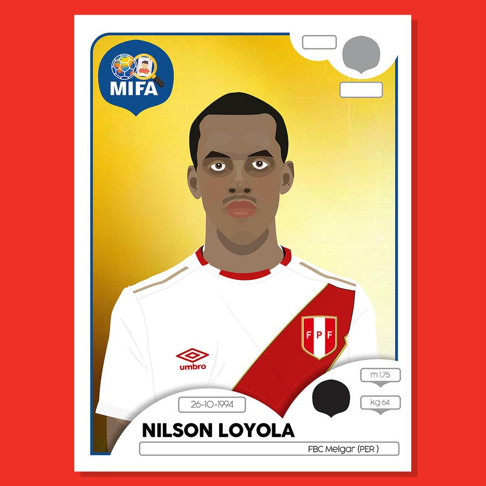 Nilson Loyola - Peru - by Apostagraphic @apostagraphic