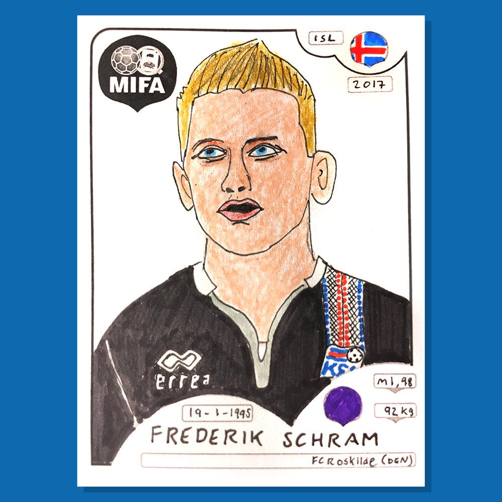 Frederik Schram - Iceland - by Alex Pratchett @paninicheapskates