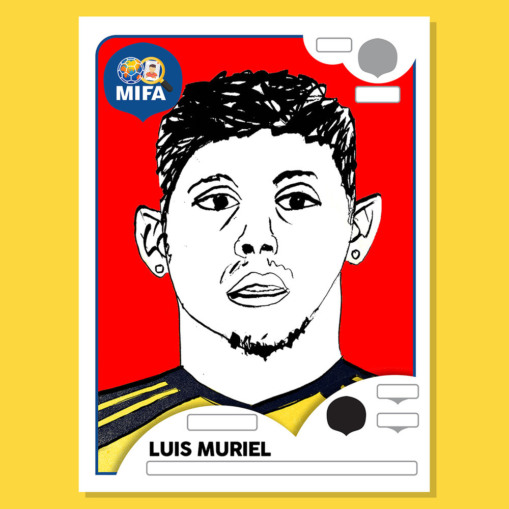 Luis Muriel - Colombia - by Max Wilkins @_maxwilkins