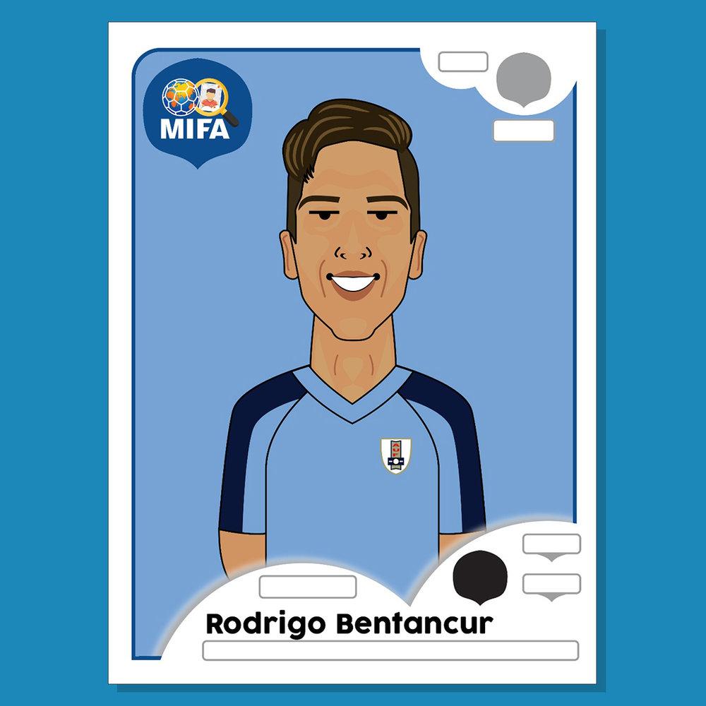 Rodrigo Bentancur - Uruguay - by Maloqueiro Azul @maloqueiro_azul