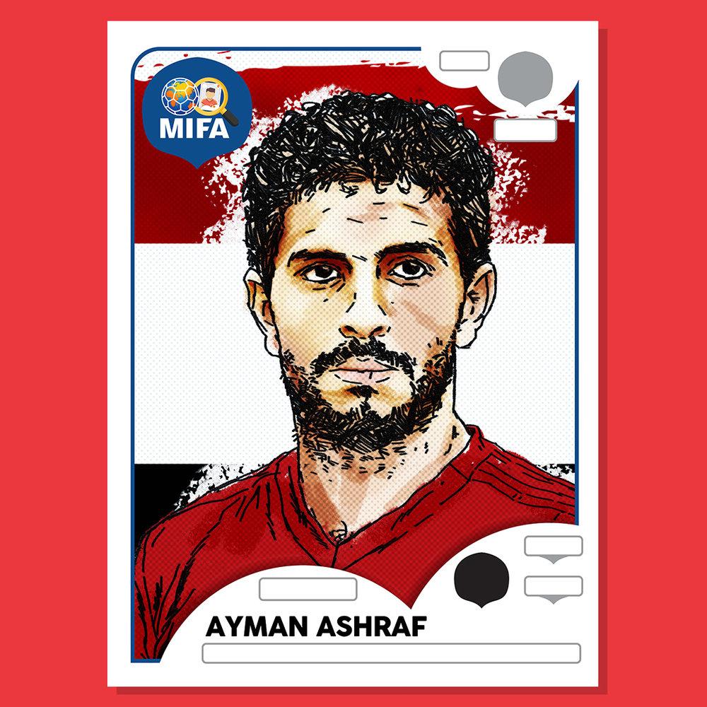 Ayman Ashraf- Egypt - by Kevin McDermott @KAMcDermott74