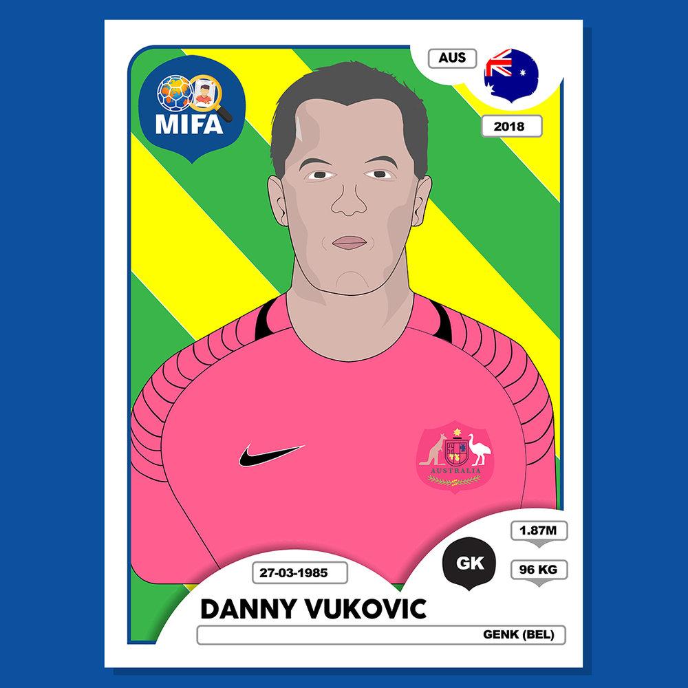 Danny Vukovic - Australia - Mansour Abdullah @mnsr01