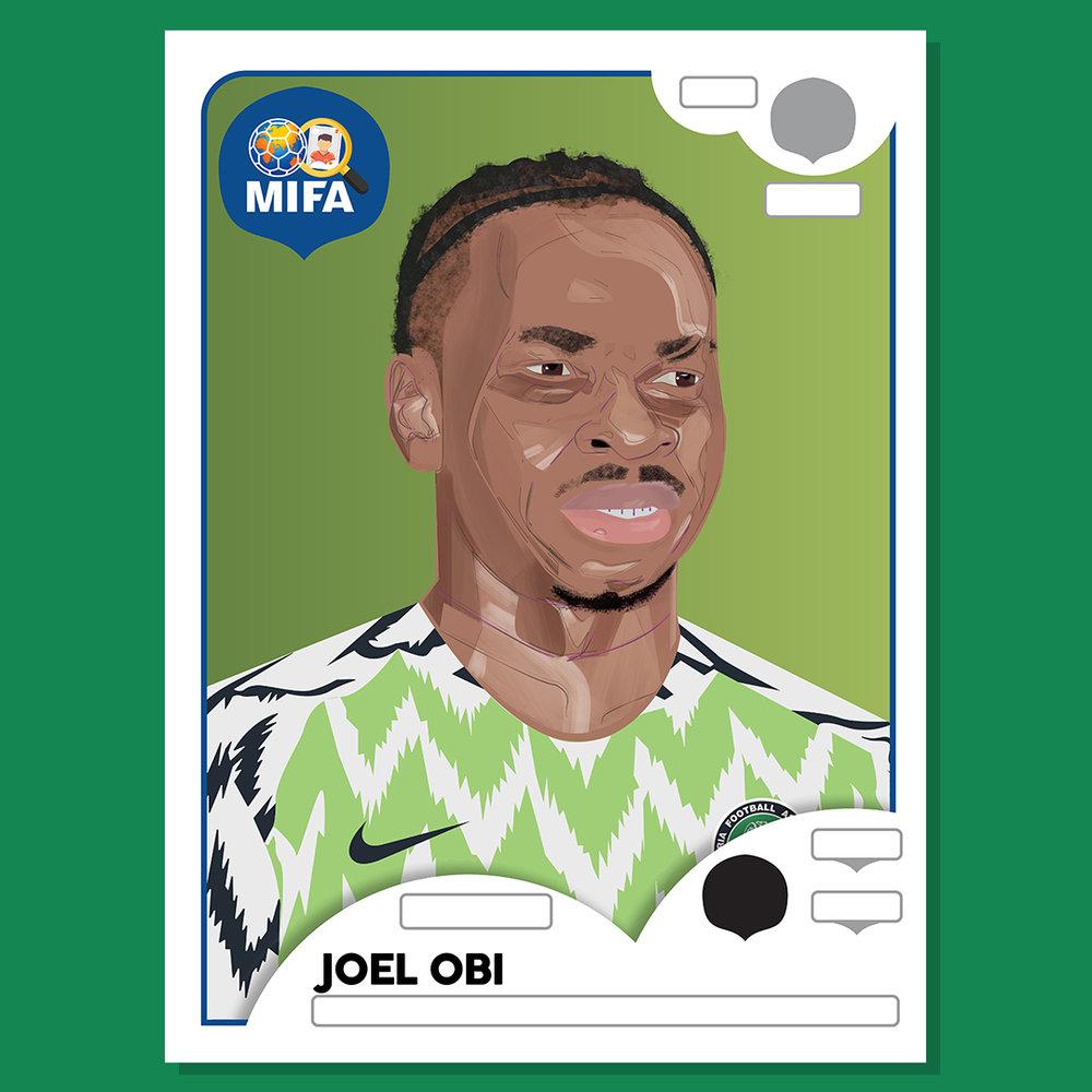 Joel Obi - Nigeria - by Zayd Fredericks @zaydfredericks