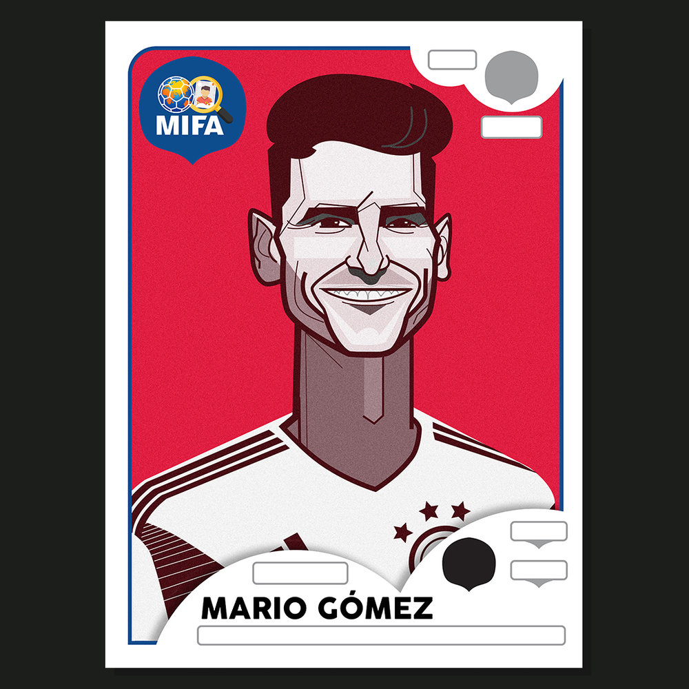Mario Gomez - Germany - by Dave Flanagan @daveflanagan