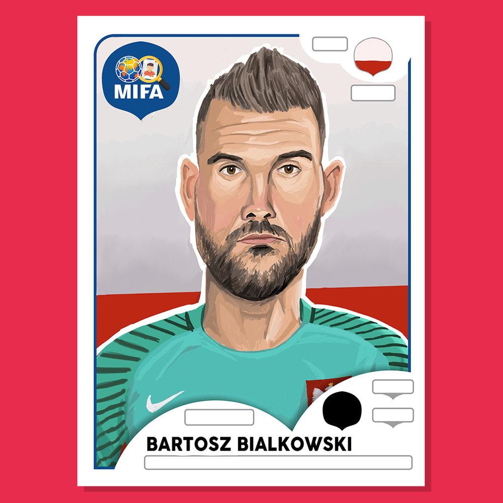 Bartosz Bialkowski - Poland - by Andrew Fraser @cartoonsidrew