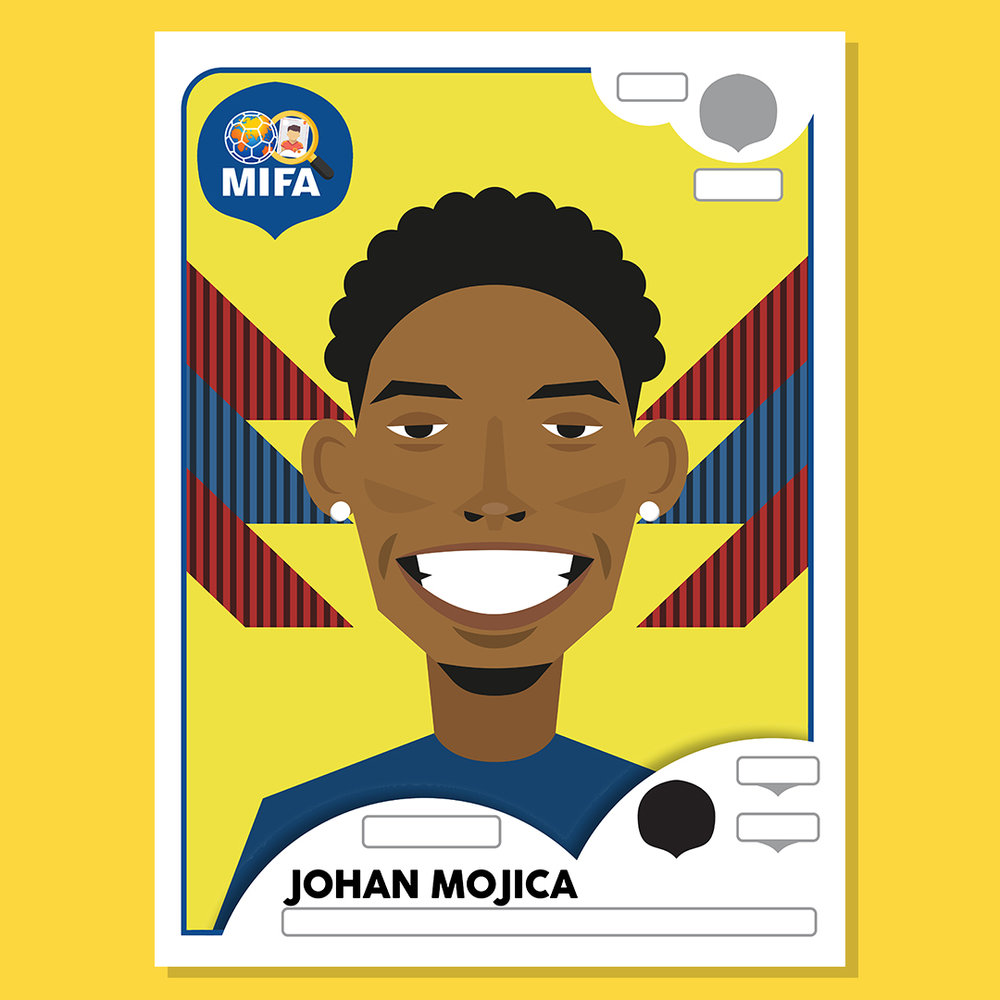 Johan Mojica - Colombia - by Johnny Hall @jhallgraphics