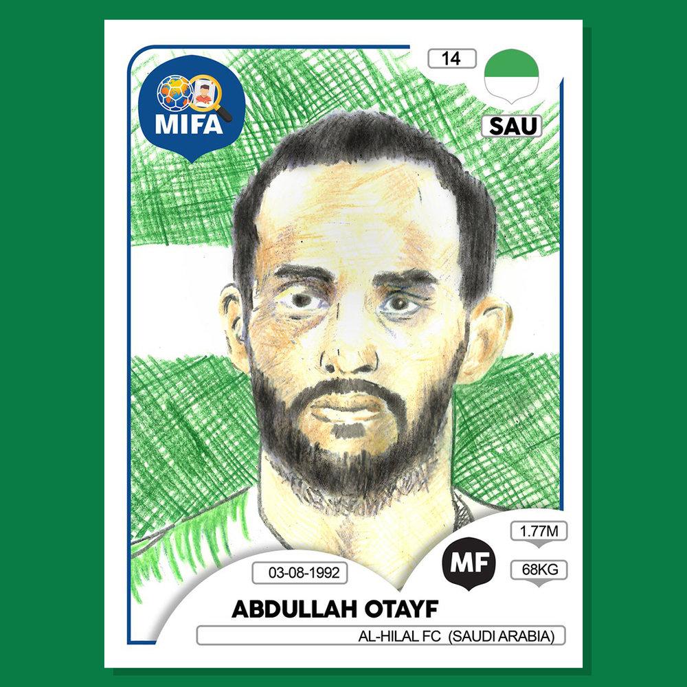 Abdullah Otayf - Saudi Arabia - by Shane Crotty
